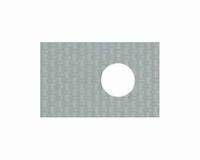 Silicon/glassfibre insulating pad for TO-220, 0,9K/W<br />Price per piece