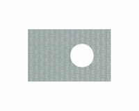 Silicon/glassfibre insulating pad for TO-220, 0,9K/W