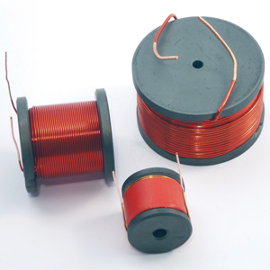 FERRITE core coils, baked