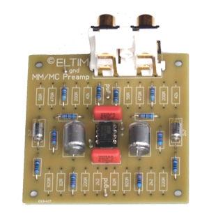 MM/MC preamplifier modules