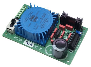 PS7xx Power Supply modules with toroidal trafo
