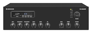 Amplifiers, mixing, 100V