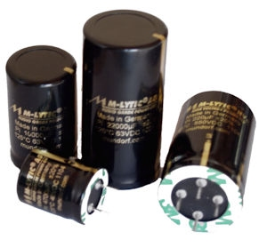 Capacitors for power supplies
