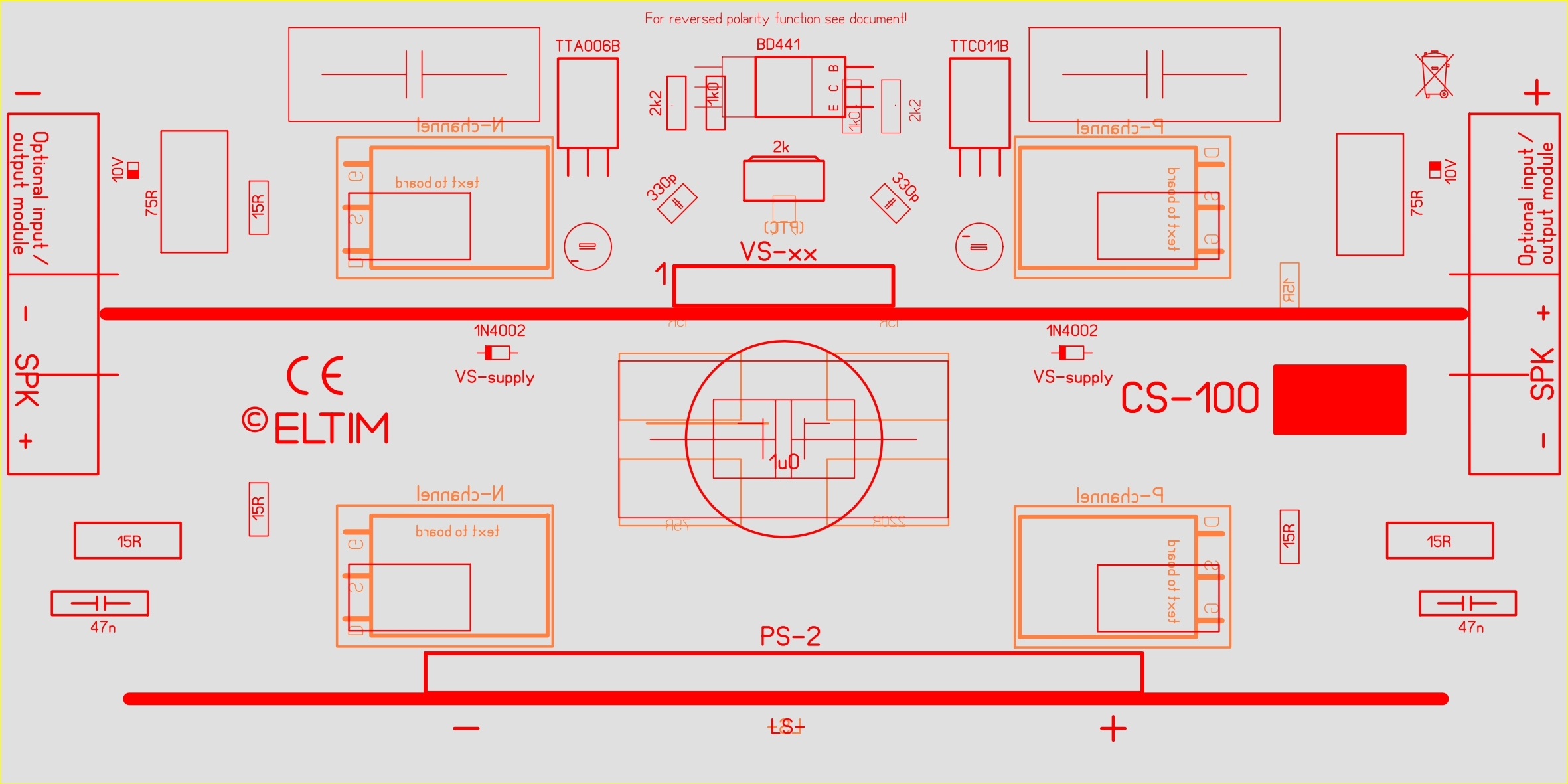 ELTIM CS-100 Current Stage modules