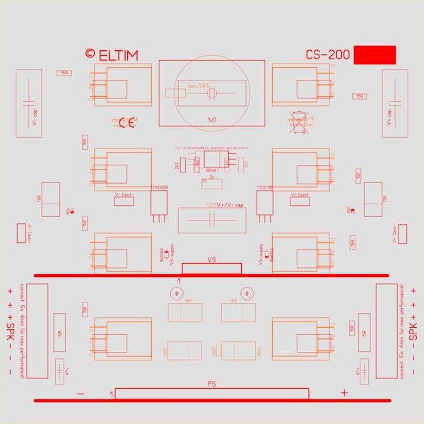 ELTIM CS-200 Current Stage modules