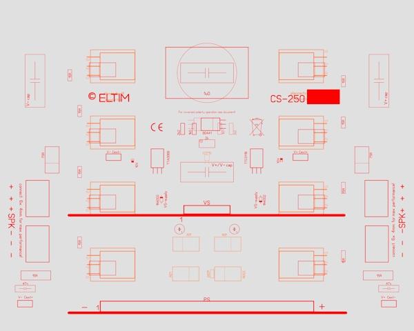 ELTIM CS-250 Current Stage module