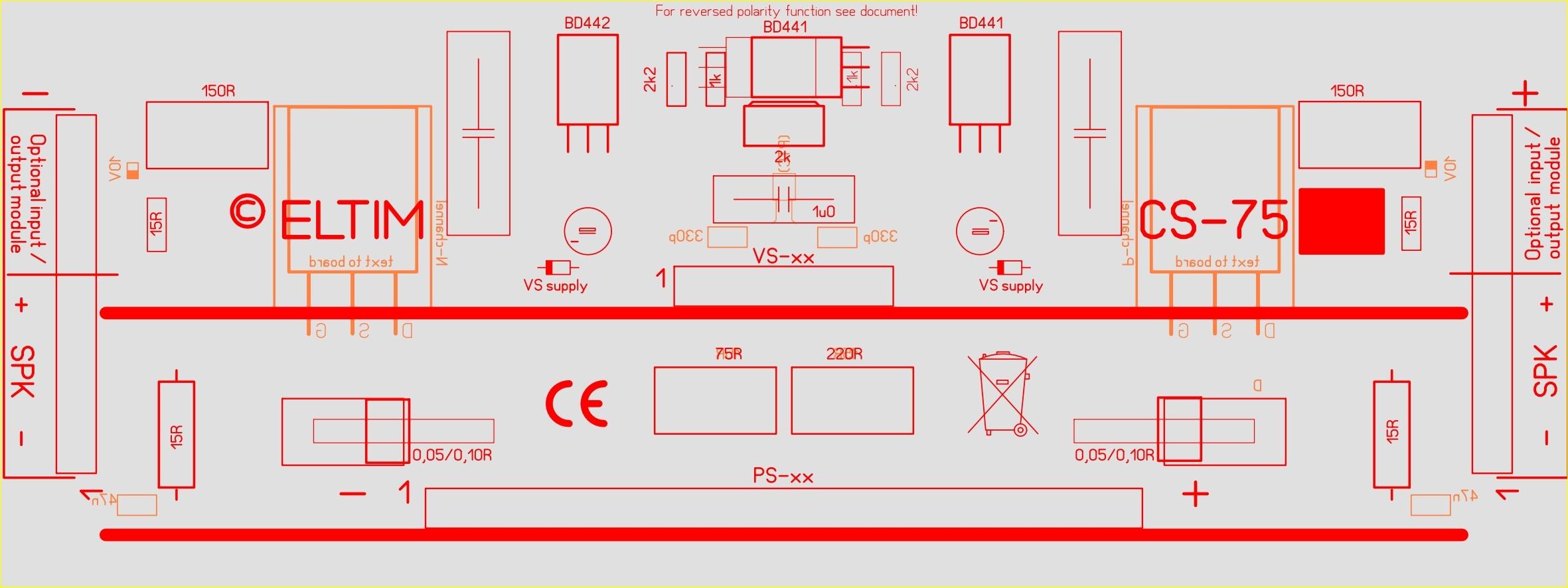 ELTIM CS-75 Current Stage modules