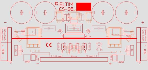 ELTIM CS-95 Current Stage modules