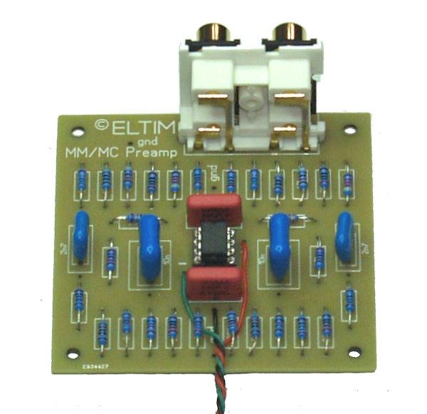 ELTIM MM/MC preamplifier modules