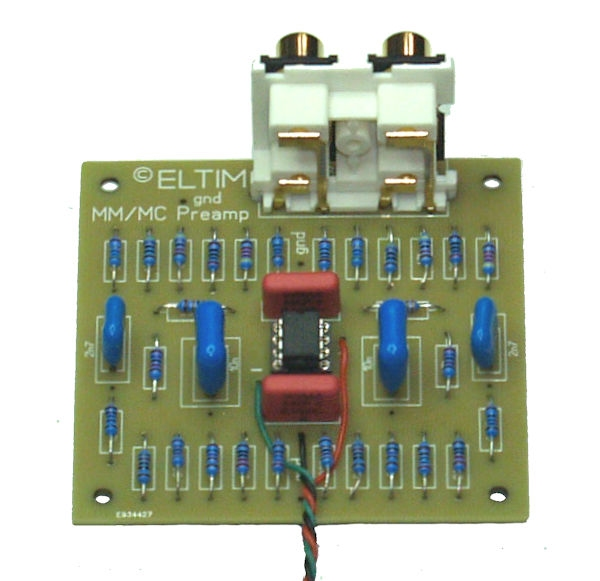 ELTIM MM/MC preamplifier modules