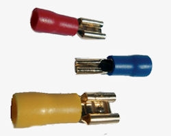 Faston connectors