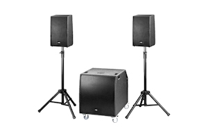 IMG PA speaker systems