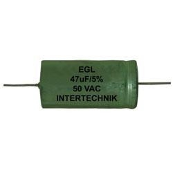 INTERTECHNIK Bipolar Elco rough 63V